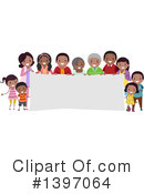 Royalty-Free (RF) Family Clipart Illustration #1397064