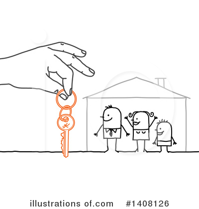 House Clipart #1408126 by NL shop