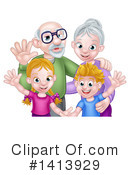 Family Clipart #1413929 by AtStockIllustration