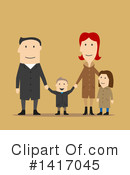 Family Clipart #1417045 by Vector Tradition SM
