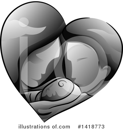 Heart Clipart #1418773 by BNP Design Studio