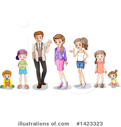 Teenager Clipart #1423323 by Graphics RF