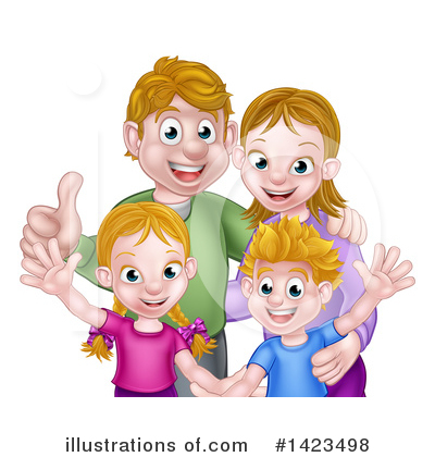 Children Clipart #1423498 by AtStockIllustration