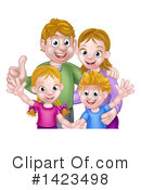 Family Clipart #1423498 by AtStockIllustration