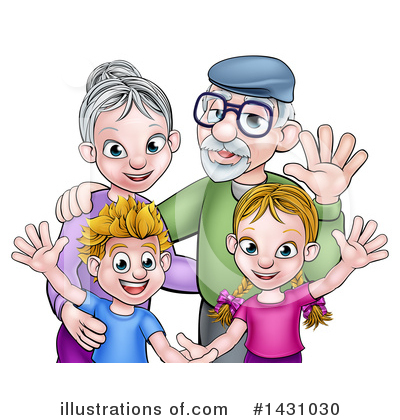 Family Clipart #1431030 by AtStockIllustration