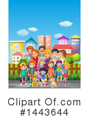 Family Clipart #1443644 by Graphics RF