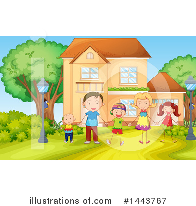 Family Clipart #1443767 by Graphics RF
