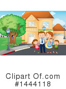 Family Clipart #1444118 by Graphics RF