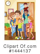 Family Clipart #1444137 by Graphics RF