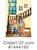 Family Clipart #1444160 by Graphics RF