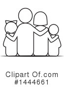 Royalty-Free (RF) Family Clipart Illustration #1444661