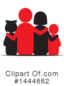 Royalty-Free (RF) Family Clipart Illustration #1444662