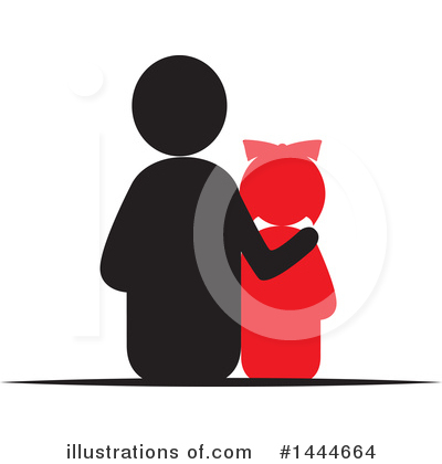Royalty-Free (RF) Family Clipart Illustration by ColorMagic - Stock Sample #1444664