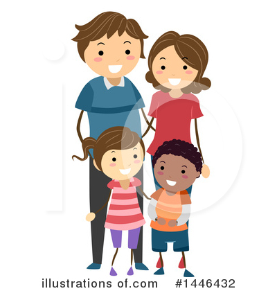 Royalty-Free (RF) Family Clipart Illustration by BNP Design Studio - Stock Sample #1446432
