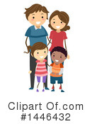 Family Clipart #1446432 by BNP Design Studio