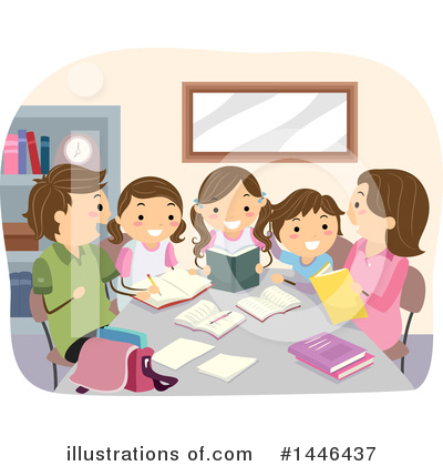 Homework Clipart #1446437 by BNP Design Studio