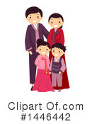 Family Clipart #1446442 by BNP Design Studio
