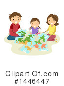 Family Clipart #1446447 by BNP Design Studio