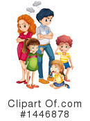 Royalty-Free (RF) Family Clipart Illustration #1446878