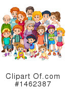 Royalty-Free (RF) Family Clipart Illustration #1462387
