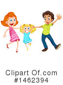 Royalty-Free (RF) Family Clipart Illustration #1462394