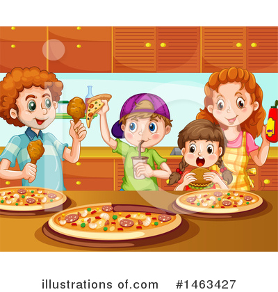 Pizza Clipart #1463427 by Graphics RF