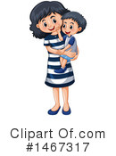 Family Clipart #1467317 by Graphics RF