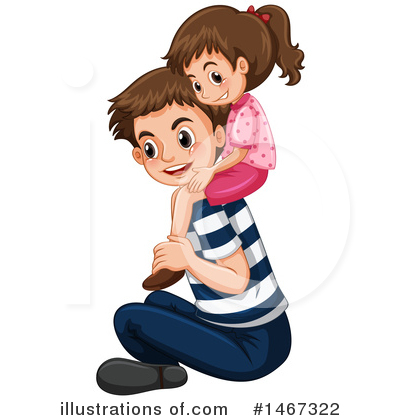 Family Clipart #1467322 by Graphics RF