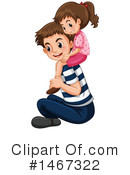 Royalty-Free (RF) Family Clipart Illustration #1467322