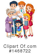 Family Clipart #1468722 by Graphics RF