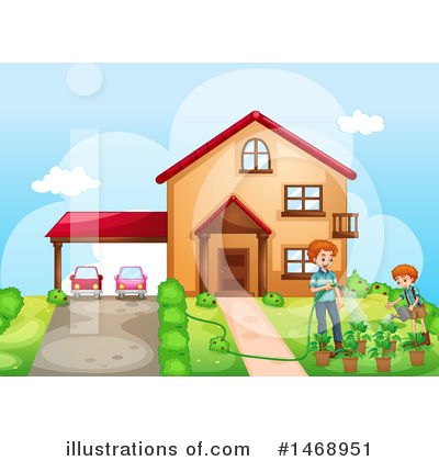 Royalty-Free (RF) Family Clipart Illustration by Graphics RF - Stock Sample #1468951