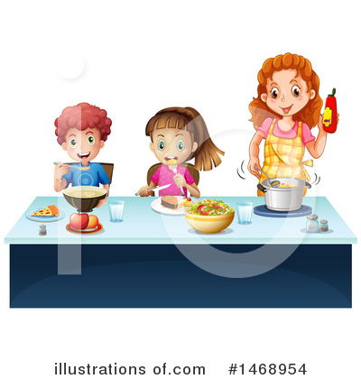Cooking Clipart #1468954 by Graphics RF