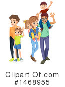 Royalty-Free (RF) Family Clipart Illustration #1468955