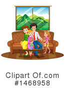 Family Clipart #1468958 by Graphics RF