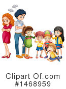 Family Clipart #1468959 by Graphics RF