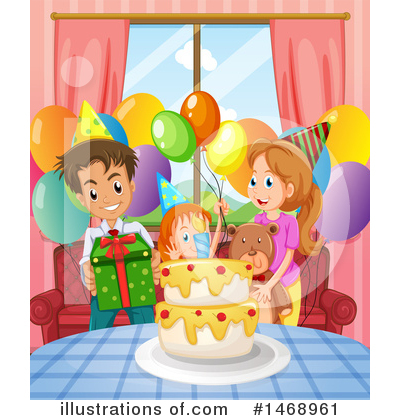 Birthday Cake Clipart #1468961 by Graphics RF