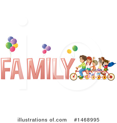 Tandem Bike Clipart #1468995 by Graphics RF