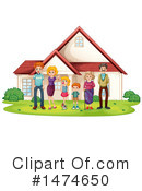 Family Clipart #1474650 by Graphics RF