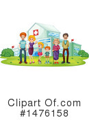 Family Clipart #1476158 by Graphics RF