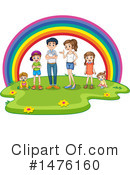Family Clipart #1476160 by Graphics RF