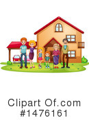 Family Clipart #1476161 by Graphics RF