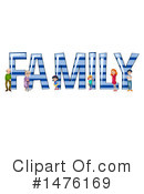 Family Clipart #1476169 by Graphics RF