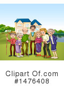 Family Clipart #1476408 by Graphics RF