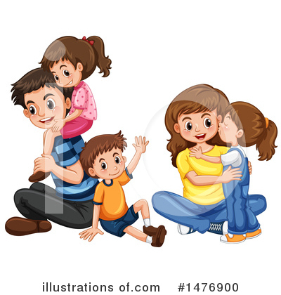 Children Clipart #1476900 by Graphics RF