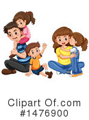 Royalty-Free (RF) Family Clipart Illustration #1476900