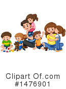 Family Clipart #1476901 by Graphics RF