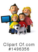 Royalty-Free (RF) Family Clipart Illustration #1496356