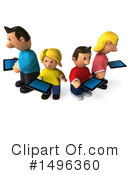 Royalty-Free (RF) Family Clipart Illustration #1496360