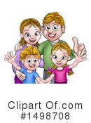 Family Clipart #1498708 by AtStockIllustration