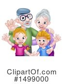 Family Clipart #1499000 by AtStockIllustration